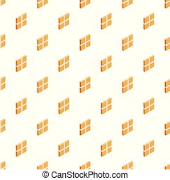 Square box pattern seamless vector