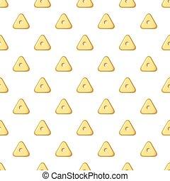 Square button pattern