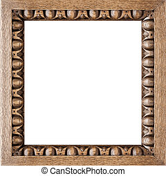 Square Carved Oak Picture Frame