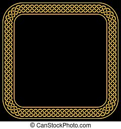 Square Celtic Knots Vector