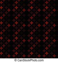 Square dark red background