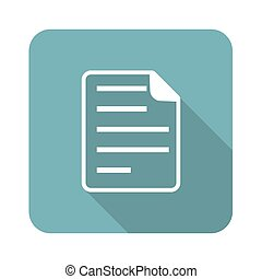 Square document icon