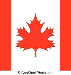 square - flag of Canada