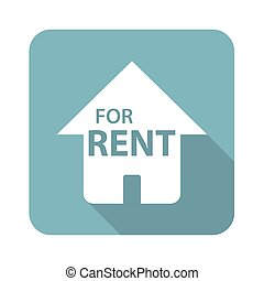 Square FOR RENT icon