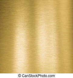 square gold metal plate