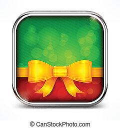 Square green icon