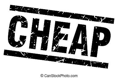 square grunge black cheap stamp