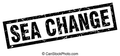 square grunge black sea change stamp