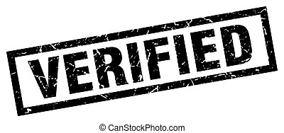 square grunge black verified stamp