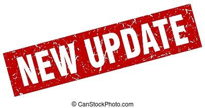 square grunge red new update stamp