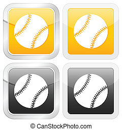 square icon baseball