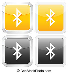 square icon bluetooth