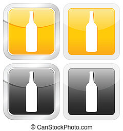 square icon bottle
