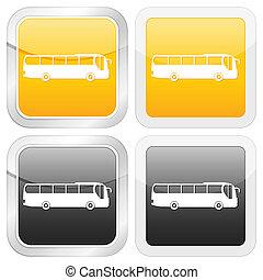 square icon bus