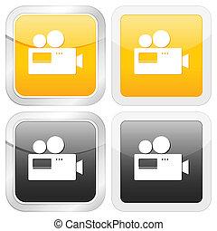 square icon camera