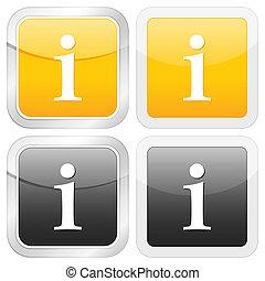 square icon info