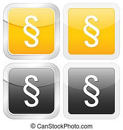 square icon paragraph