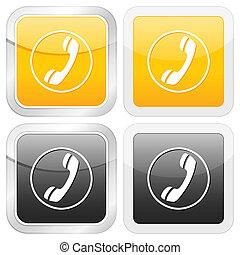 square icon phone