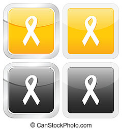 square icon ribbon