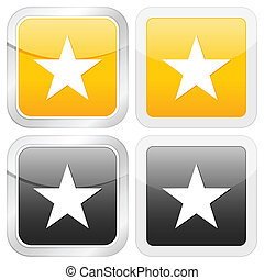 square icon star
