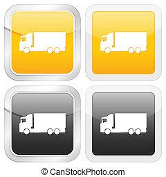 square icon truck