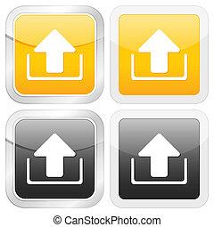 square icon upload