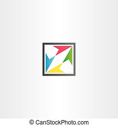 square icon with colorful arrows
