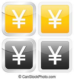 square icon yen