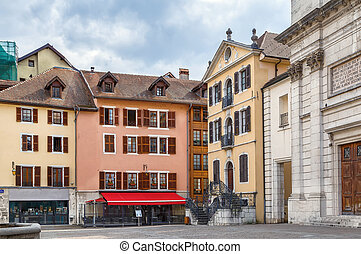 Square in Annecy, France
