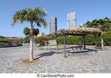 Square in Santa Cruz de Tenerife, Canary Islands, Spain
