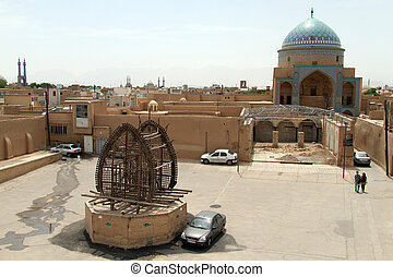 Square in Yazd