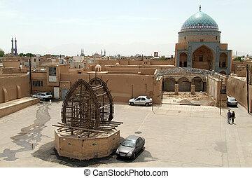 Square in Yazd