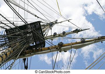 Square Mast