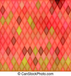 Square Mosaic Background
