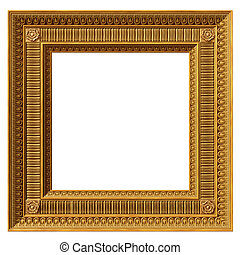 Square neoclassical frame
