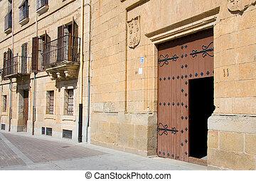 Square of Ciudad Rodrigo, Salamanca (Spain)