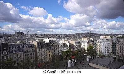 Square of Georges Pompidou, Paris - Square of Georges...