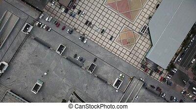 Square of Kyiv in Ukraine - Cityscape of Kyiv, Ukraine....