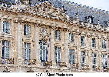 Square of the Bourse, Bordeaux, France