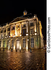 Square of the bourse, Bordeaux, Gironde, Aquitaine, France