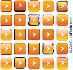 Square orange arrow icons.