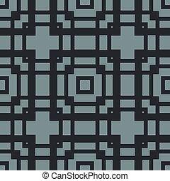 square ornament vector