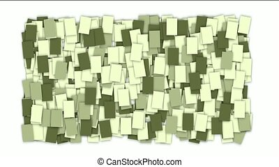 square paper and mosaics wallpaper.