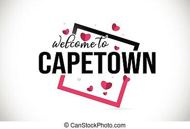 square., parola, scritto mano, cuori, benvenuto, rosso, città, testo, font, capo