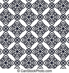 Square Pattern panel for laser cutting with mandalas....