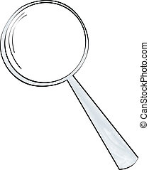 Square Peg Magnifying Glass