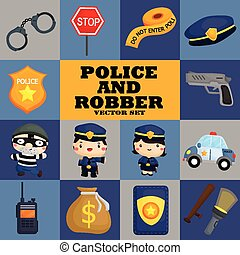 Square Police and Robber