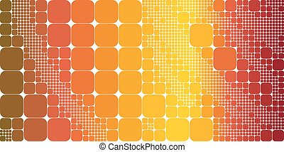 Square raibow gradient geometrical abstract background