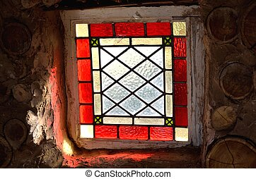 square red window