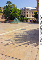 Square Roman Theatre in Malaga Spain